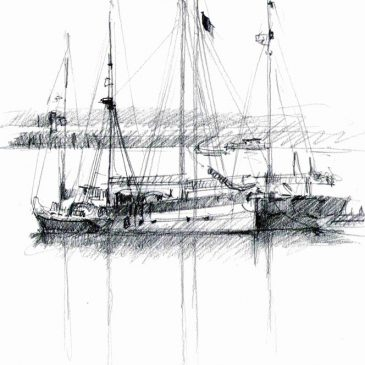 Fishing Boats in Brixham