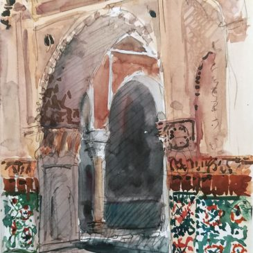 Watercolour Marrakech