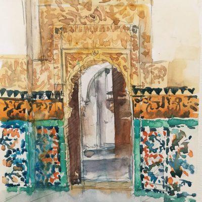 Marrakech - La Medersa Ben Youssef