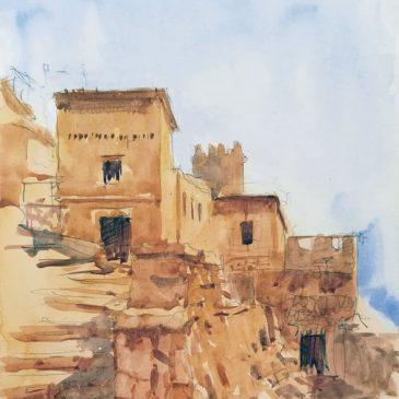 Watercolour Ouarzazate