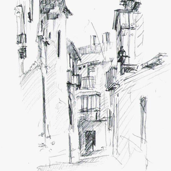 Closed balconies, Toledo