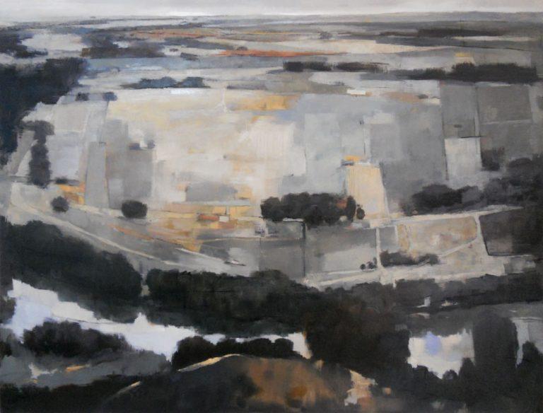 Title: La Curva en el Rio Materials: Oil on canvass Size: 130cm x 100cm